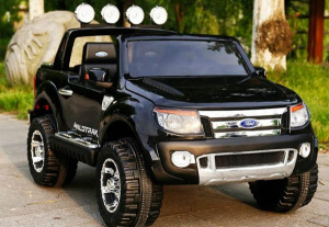 Ford Ranger PILOT 2.4 Ghz Koła EVA 2x45W KLUCZYK RADIO + GRATIS! Children Electric Ride