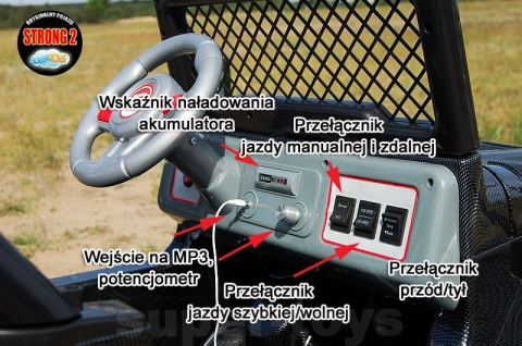 AUTO NA AKUMULATOR MEGA JEEP RAPTOR DRIFFTER DRIFTER EXCLUSIVE DWUOSOBOWY WOLNY START LAKIER SKÓRA FOTEL PILOT 2,4Ghz HP-011