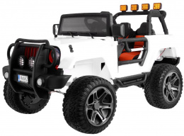 DWUOSOBOWE AUTO NA AKUMULATOR JEEP 4x4 JEEP Monster JEEP MONSTER OF-ROAD + PLECAK GRATIS